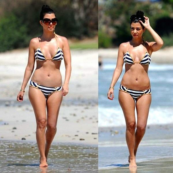 slika 231 Bikini stil: Kourtney Kardashian