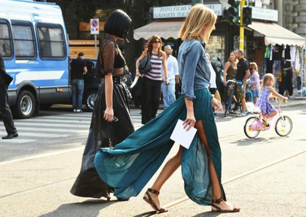 slika 519 Čeprkanje po ormaru: Duga suknja