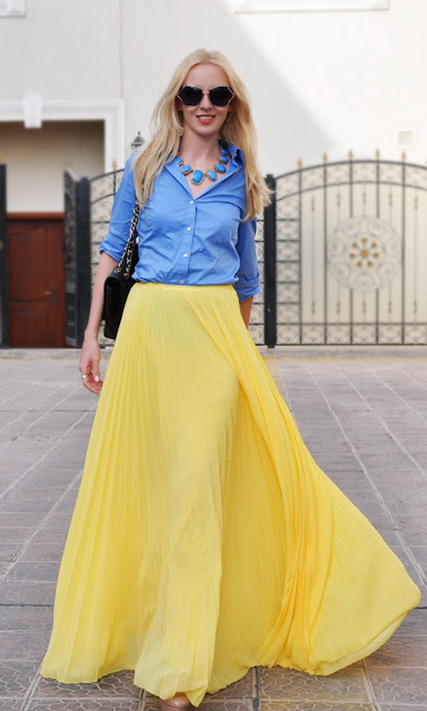 slika 616 Čeprkanje po ormaru: Duga suknja