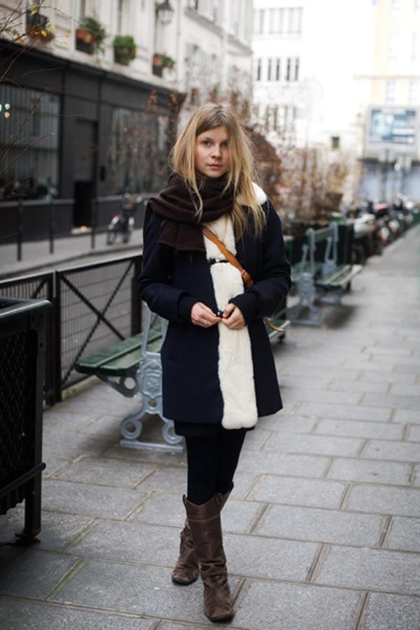 slika115 Street Style: Clemence Poesy