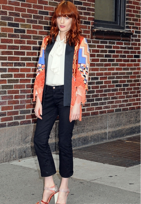 slika14 Street Style: Florence Welch