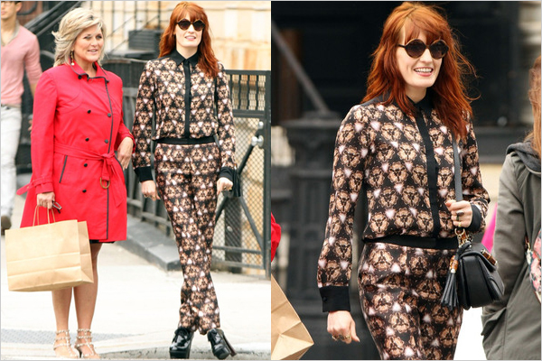 slika33 Street Style: Florence Welch