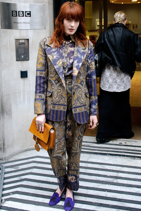 slika51 Street Style: Florence Welch