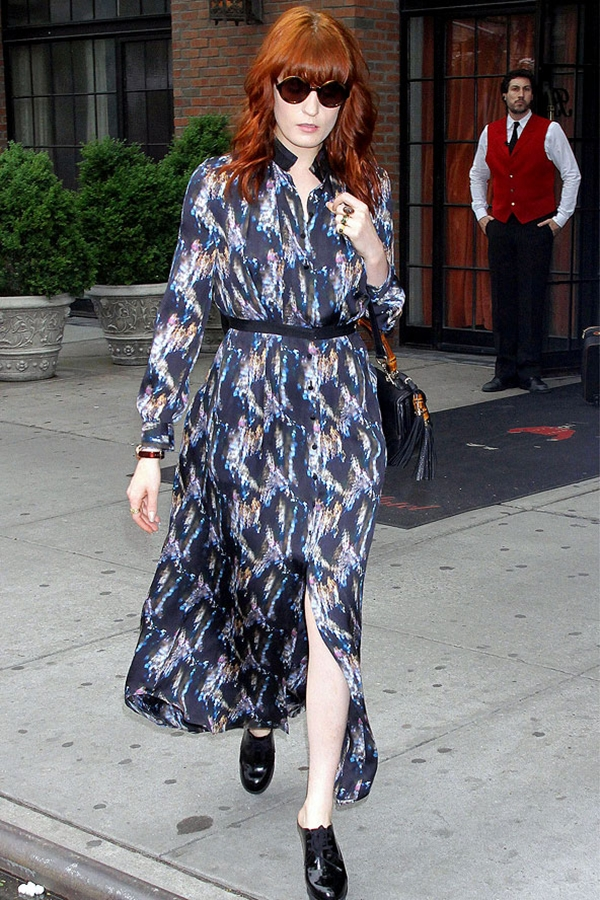 slika91 Street Style: Florence Welch