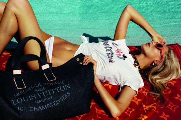 14 Louis Vuitton: Poppy Delevigne na odmoru
