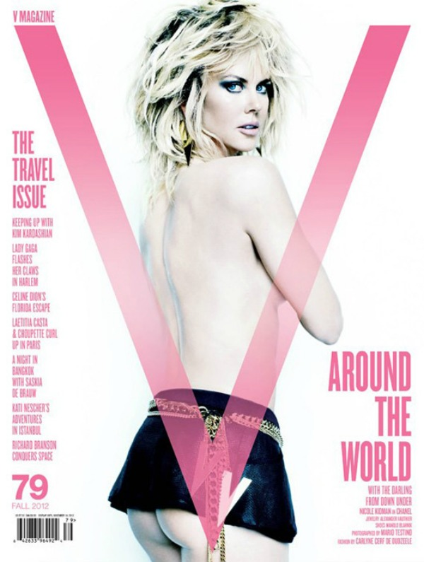 """148 Modni zalogaj: Seksi Nicole Kidman za """"V"""""""