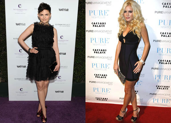310 Trend sa crvenog tepiha: Mala crna haljina