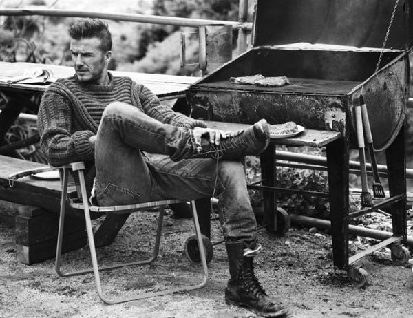 "David Beckham2 ""Esquire UK"": Muževni David Beckham"