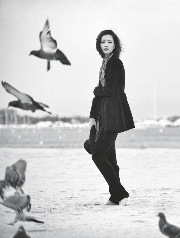 "Du Juan Chai Lizeng3 730x963 ""Harpers Bazaar"": Devojka iz Kine"