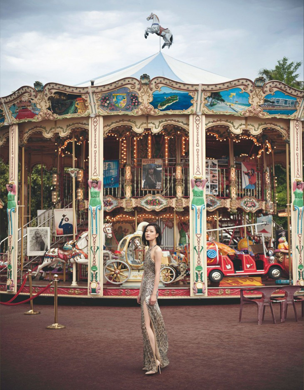 "Du Juan Chai Lizeng4 730x937 ""Harpers Bazaar"": Devojka iz Kine"