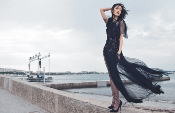 "Du Juan Chai Lizeng6 730x472 ""Harpers Bazaar"": Devojka iz Kine"