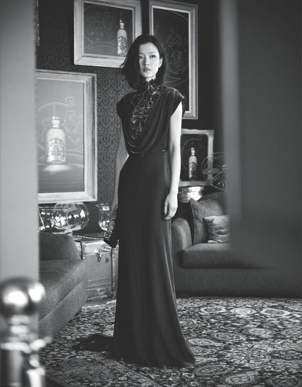 "Du Juan Chai Lizeng7 730x937 ""Harpers Bazaar"": Devojka iz Kine"