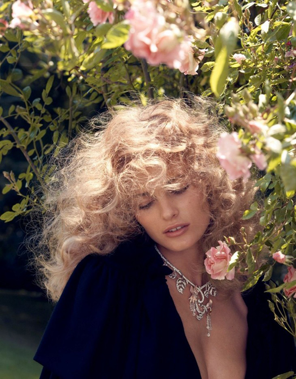 Edita Vilkeviciute Camilla Akrans2 730x935 Vogue Japan: Glamurozna jesen