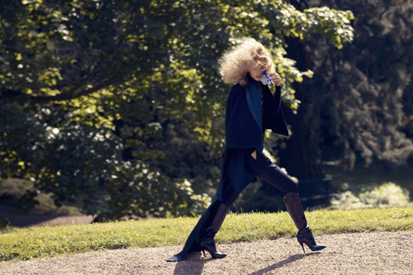 Edita Vilkeviciute Camilla Akrans3 730x486 Vogue Japan: Glamurozna jesen