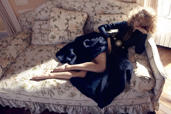 Edita Vilkeviciute Camilla Akrans4 730x486 Vogue Japan: Glamurozna jesen