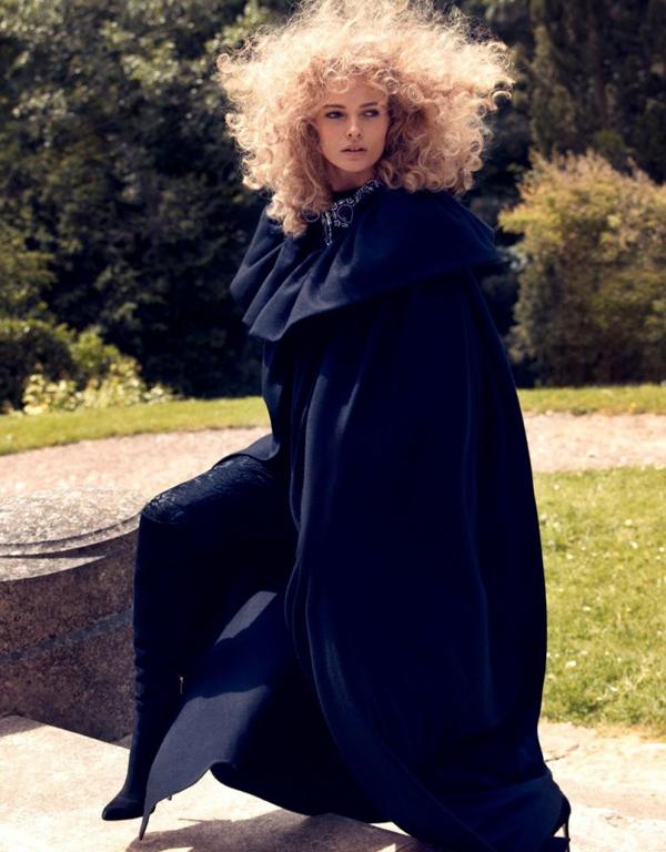 Edita Vilkeviciute Camilla Akrans8 730x935 Vogue Japan: Glamurozna jesen