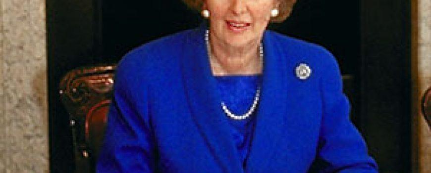 Ljudi koji su pomerali granice: Margaret Thatcher