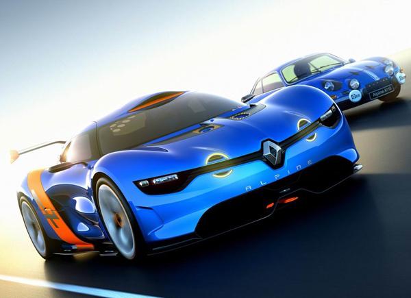 Renault Alpine A110 50 Concept 20121 200km/h: Charlie Sheen, Honda, trkački Renault i najmanji auto na svetu