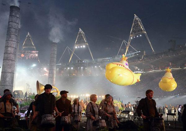 SLIKA 5 Deset najluđih momenata sa ceremonije otvaranja OI u Londonu 2012.