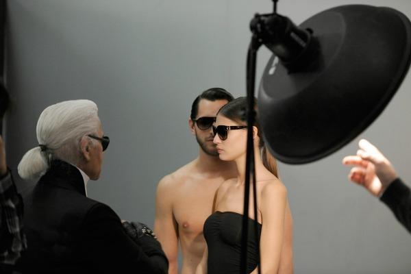 Slika 26 Karl Lagerfeld: Elegancija pogleda