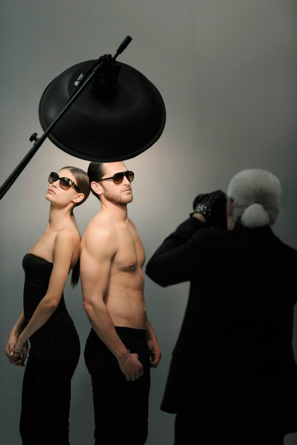 Slika 34 Karl Lagerfeld: Elegancija pogleda