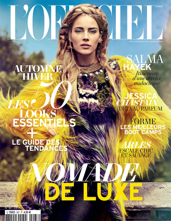 "Slika 525 ""L'Officiel Paris"": Nomadski luksuz"