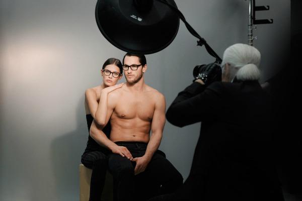 Slika 53 Karl Lagerfeld: Elegancija pogleda