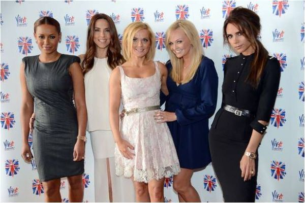 SpiceGirls Spice Girls spremaju se za nastup