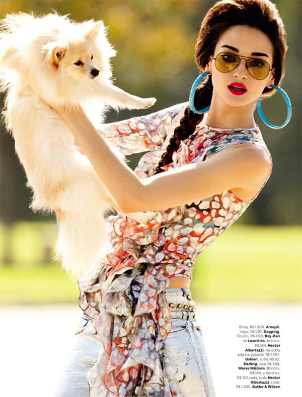 """bruna tenorio jr duran vogue brasil 8 6 12 05 """"Vogue Brazil"""": Elegantno i jednostavno u jednom"""