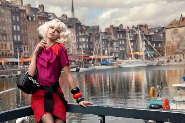 "elle2 ""Elle Vietnam"": Glamur na ulicama Onfleura"
