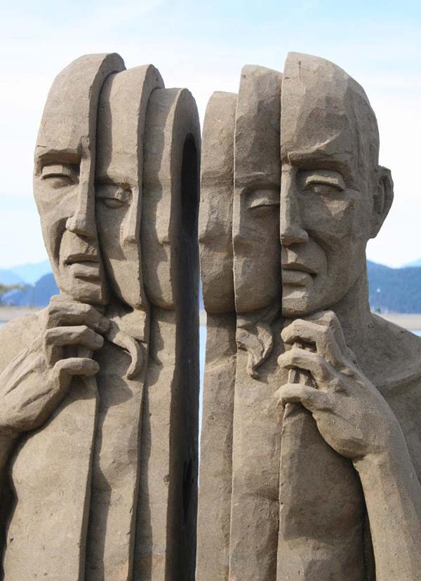 foto 3 Dnevna doza kreativnosti: Skulpture od peska