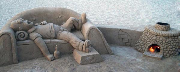 foto 4 Dnevna doza kreativnosti: Skulpture od peska