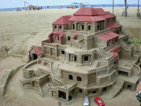 foto 6 Dnevna doza kreativnosti: Skulpture od peska