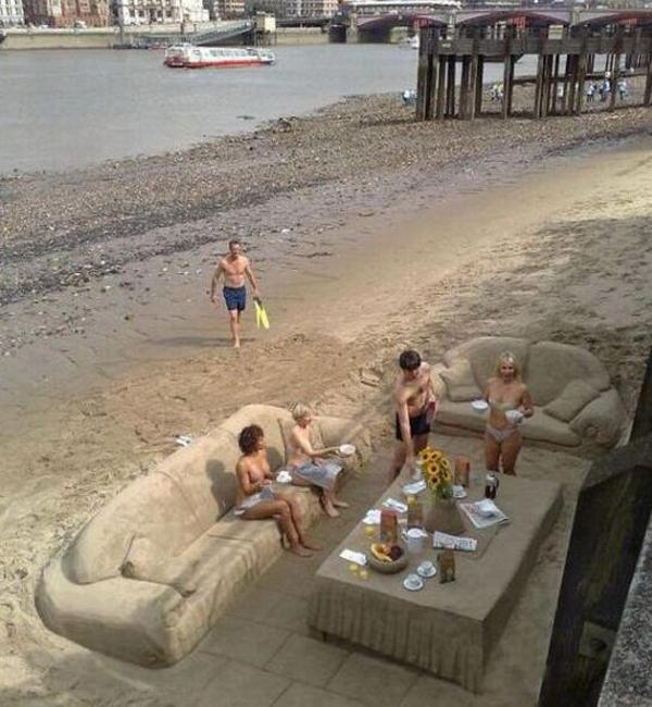 foto 7 Dnevna doza kreativnosti: Skulpture od peska
