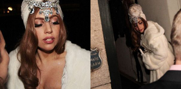 gaga34 Trach Up: Lady Gaga mrtva pijana