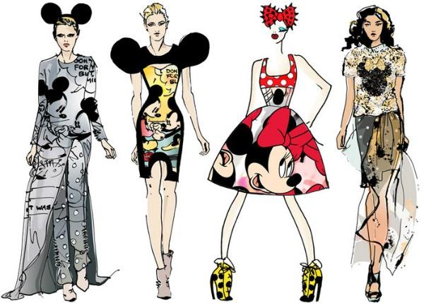 justlia Modni zalogaj: Minnie Mouse na londonskoj Nedelji mode
