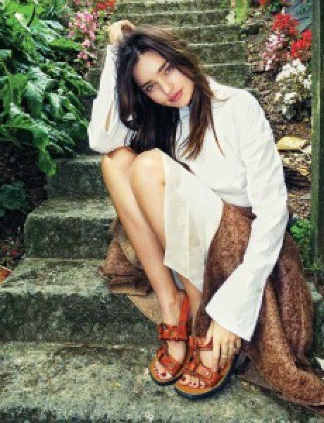 Modni zalogaj: Miranda Kerr pozira svom suprugu!
