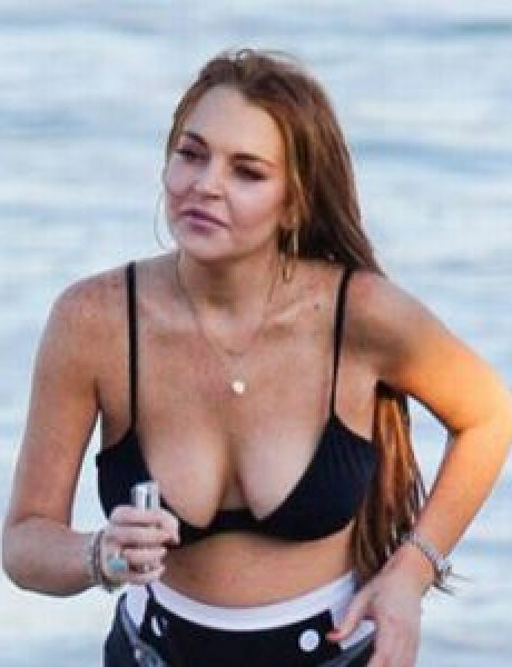 Trach Up: Lindsay Lohan šeta bikini