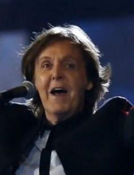 Paul McCartney spasio slona