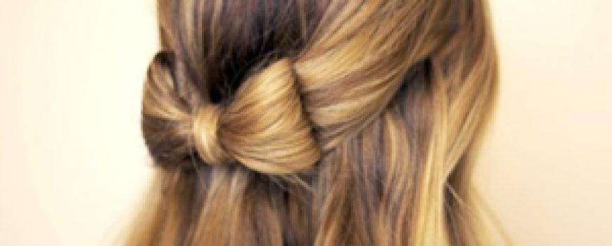 Sama svoj frizer: Mašna od kose