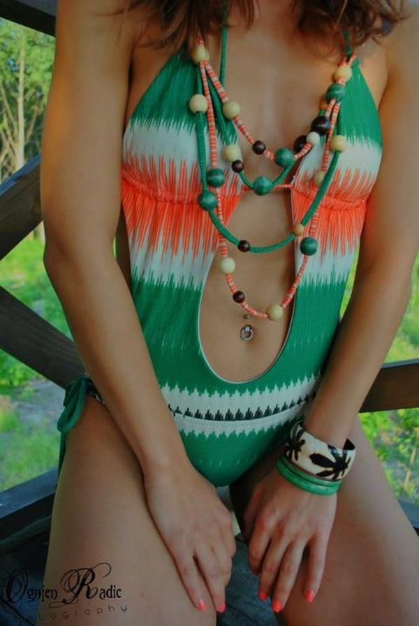 slika 127 Trendi kupaći kostimi Šolaja: Zanimljivi detalji i dodir neona