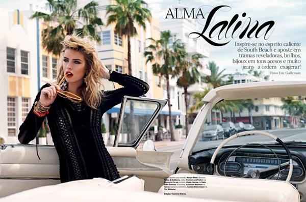 "slika 13 ""Vogue Brazil"": Glamurozna izdanja loše devojke"