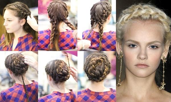 slika 139 Tri jednostavne letnje frizure