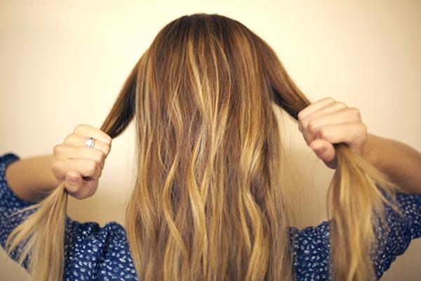slika 166 Sama svoj frizer: Mašna od kose