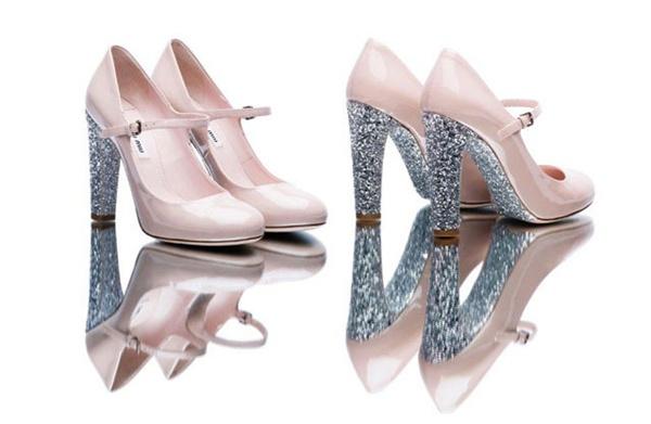 slika 17 Modni zalogaj: Nova kolekcija svetlucavih cipelica Miu Miu