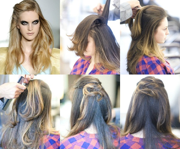 slika 224 Tri jednostavne letnje frizure