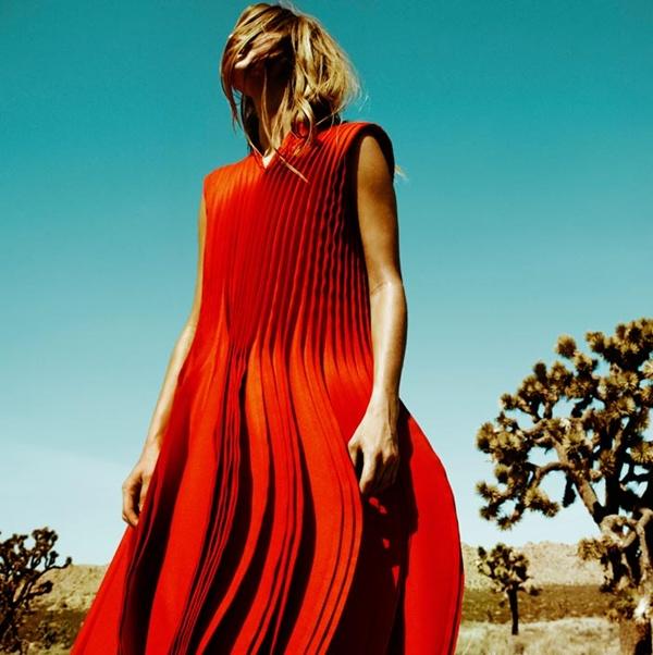 """slika 232 """"Vogue Spain"""": Jesenja moda u pustinji"""