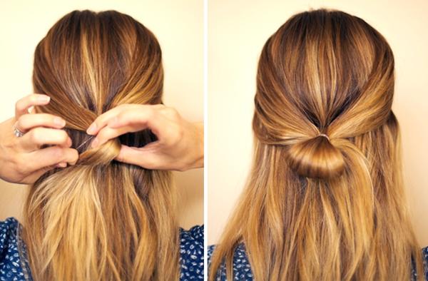 slika 241 Sama svoj frizer: Mašna od kose