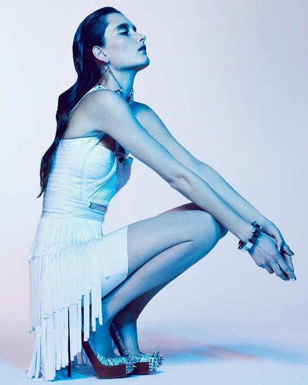 "slika 312 ""Vogue Portugal"": Glamurozni crno beli svet"