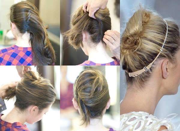 slika 315 Tri jednostavne letnje frizure